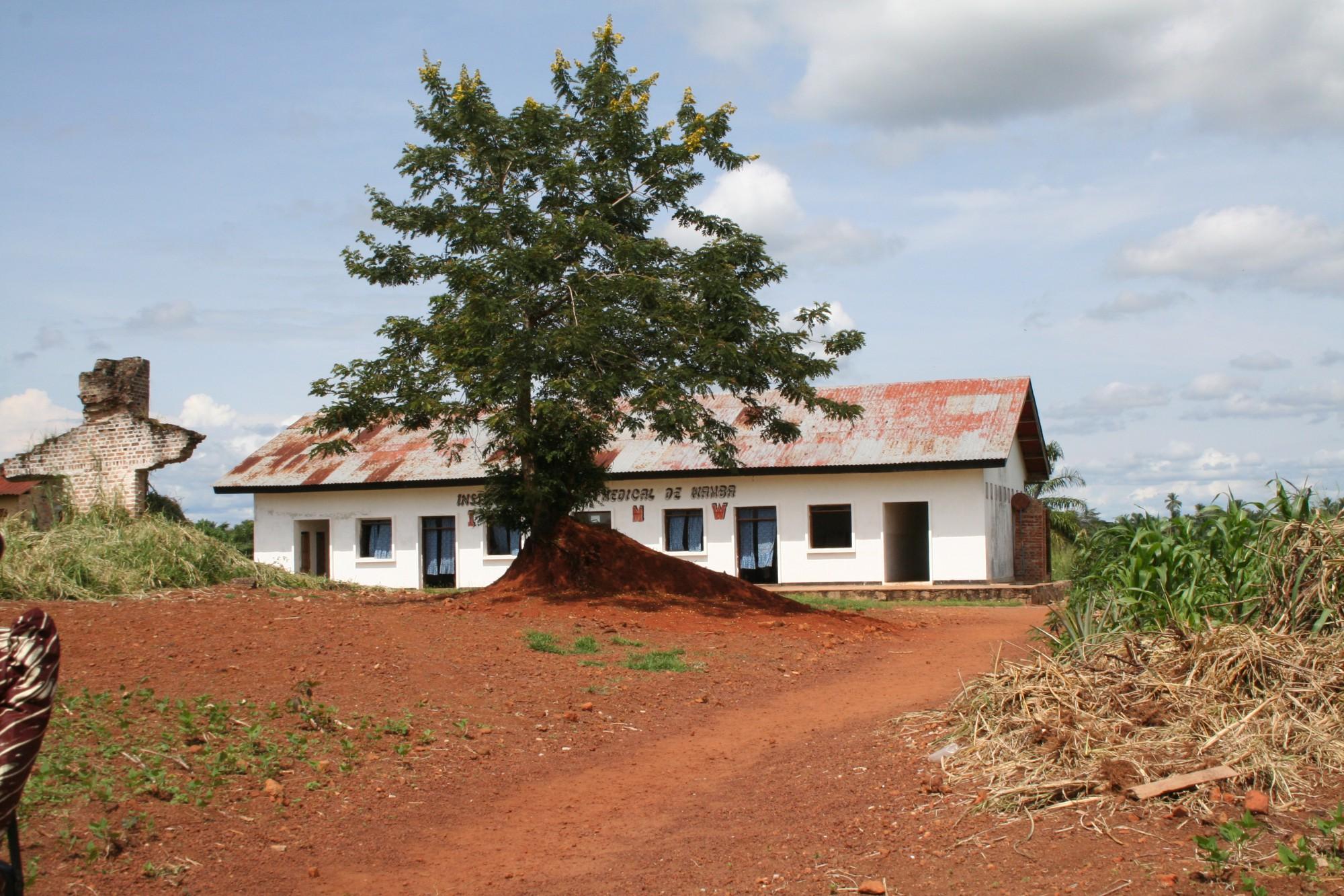 Scuola infermieri a Wamba