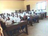 Un'aula della Scuola Pedrollo a Wamba